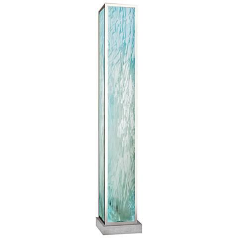 Van Teal Seafoam Brilliant Silver Floor Lamp