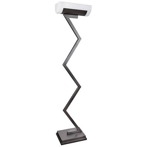 Van Teal Ziggy Mineral Gray Floor Lamp