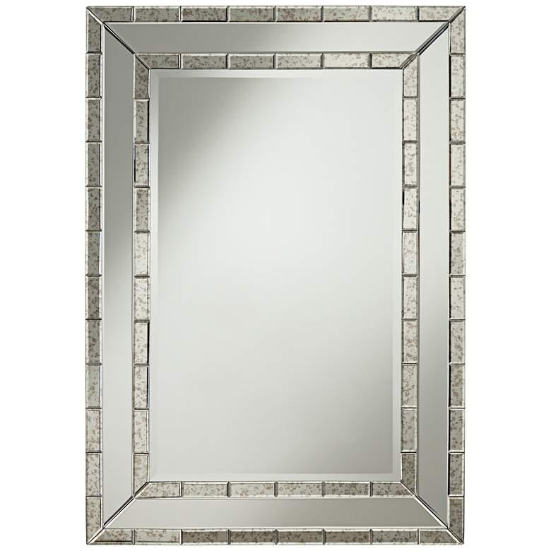 "Caldwell Antique Frame 28"" x 40"" Rectangular Wall Mirror"