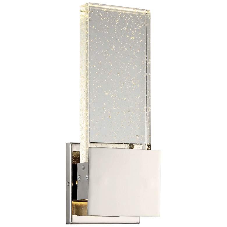 "Stellaris 12 3/4"" High Polished Nickel LED Wall Sconce"