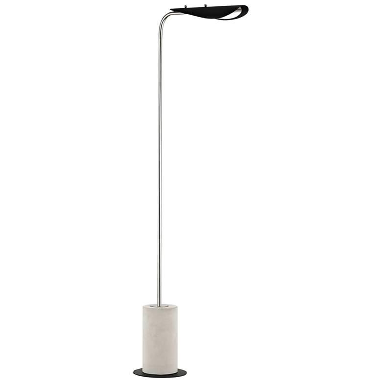 Mitzi Layla Polished Nickel and Black LED Floor Lamp