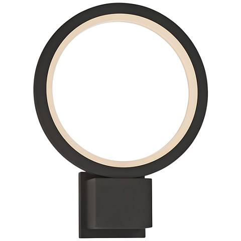 "Eurofase Outdoor Mount 15 1/2""H Graphite Gray LED Wall Light"