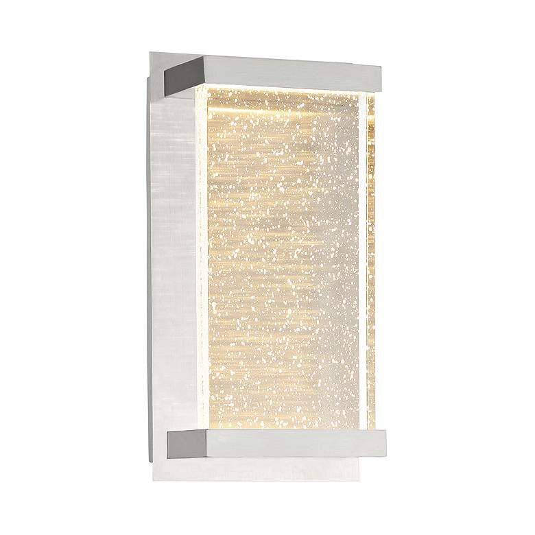 "Eurofase Paradiso 10 1/2""H Chrome LED Outdoor Wall Light"