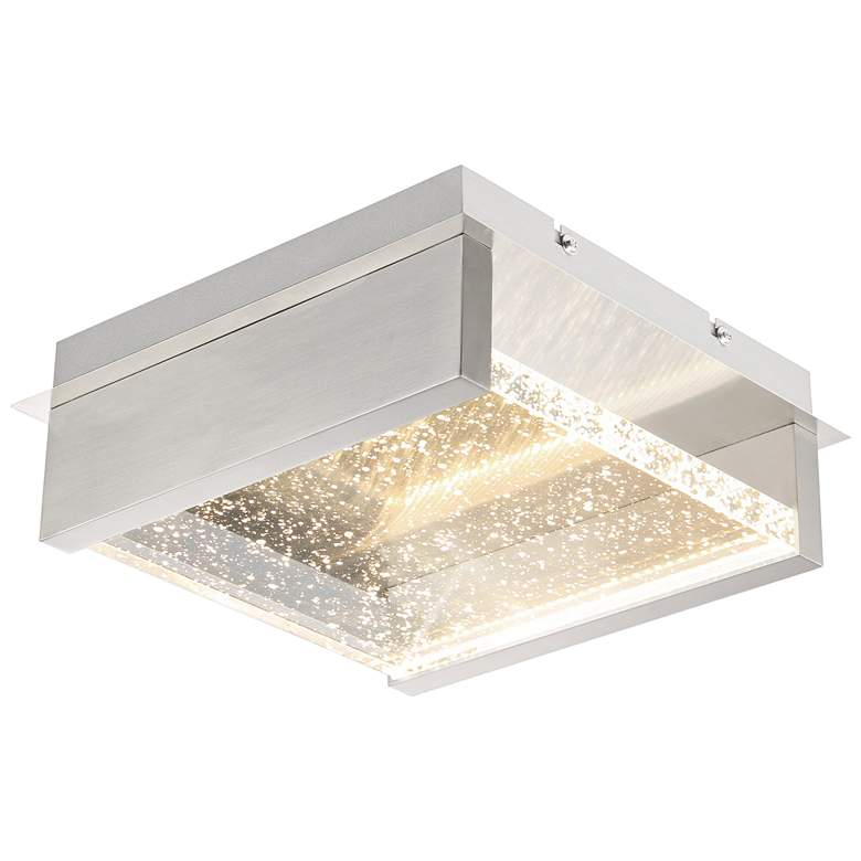 "Eurofase Paradiso 9 3/4""W Chrome LED Outdoor Ceiling"