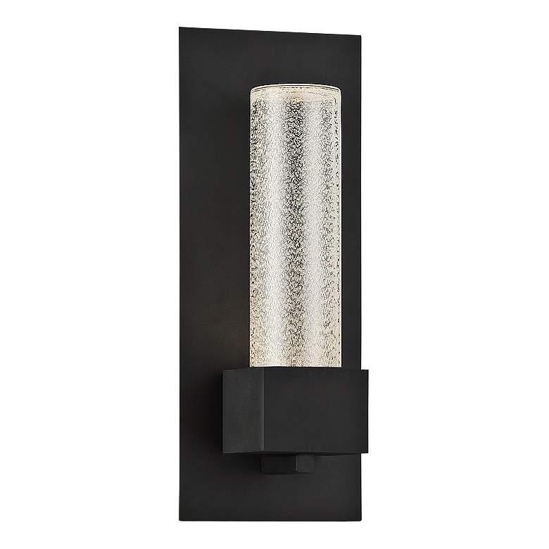 "Eurofase Solato 13"" High Black LED Outdoor Wall Light"