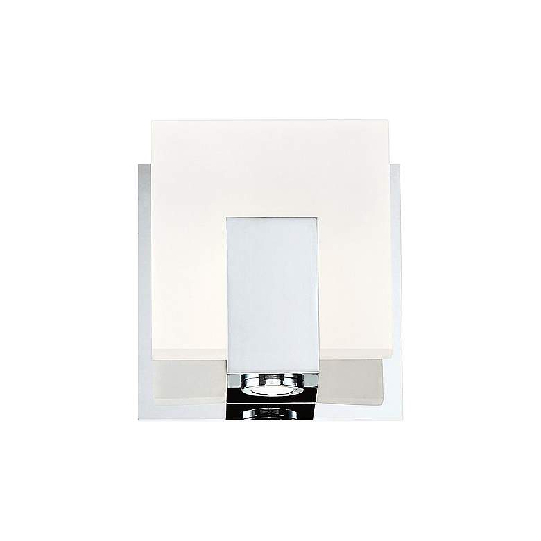 """Eurofase Canmore 5"""" High Chrome LED Wall Sconce"""