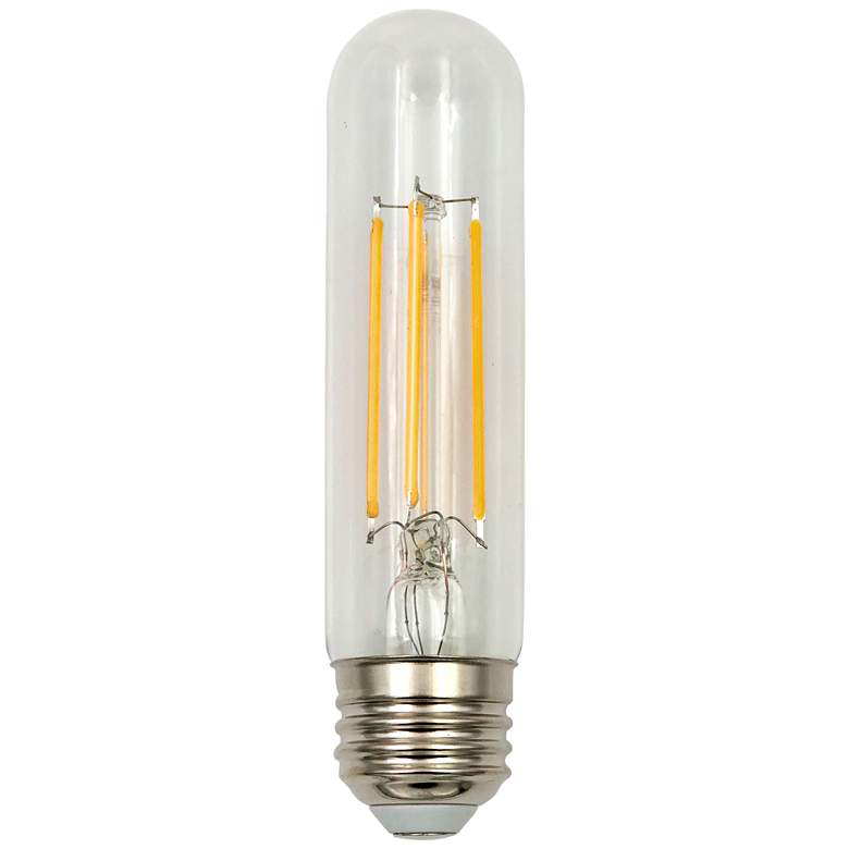 60W Equivalent Clear 6W LED Dimmable Standard T10 Bulb