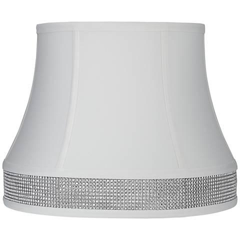 Hawking White Round Bell Lamp Shade 10x14x11 (Spider)