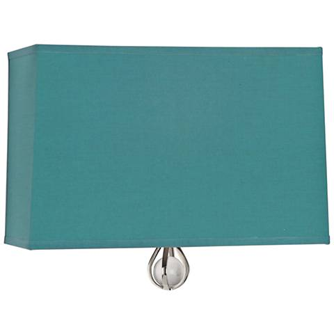 """Curtis 9"""" High Mayo Teal Wall Sconce"""