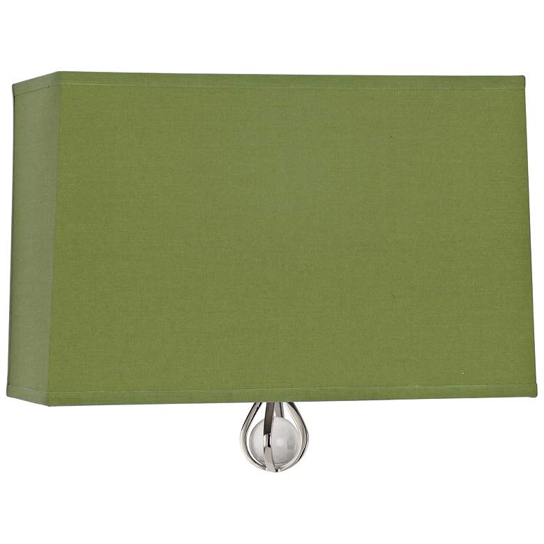 """Curtis 9"""" High Parrot Green Wall Sconce"""
