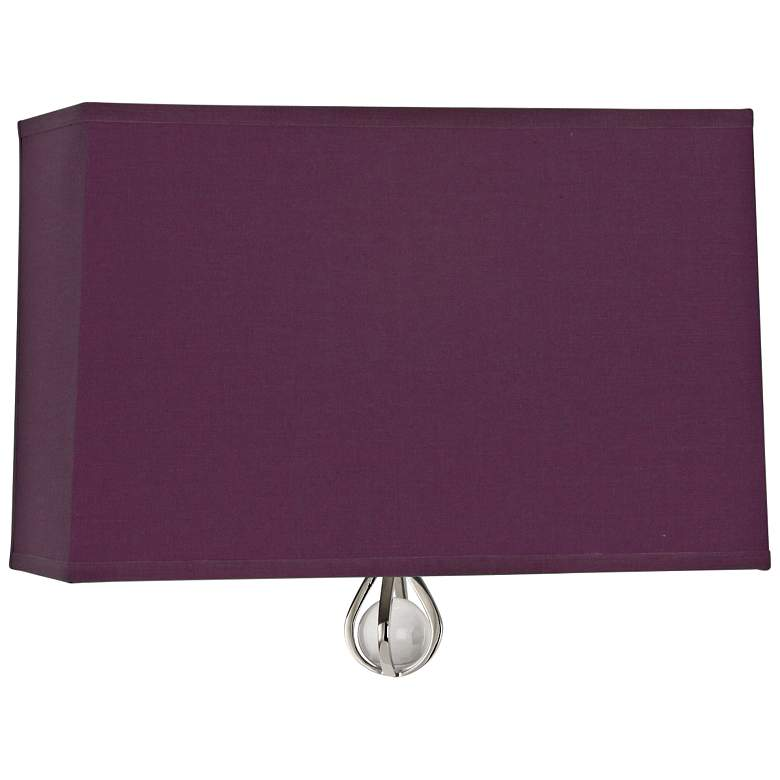 "Curtis 9"" High Greenhow Grape Wall Sconce"