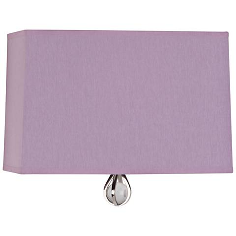 "Curtis 9"" High Ludwell Lilac Wall Sconce"