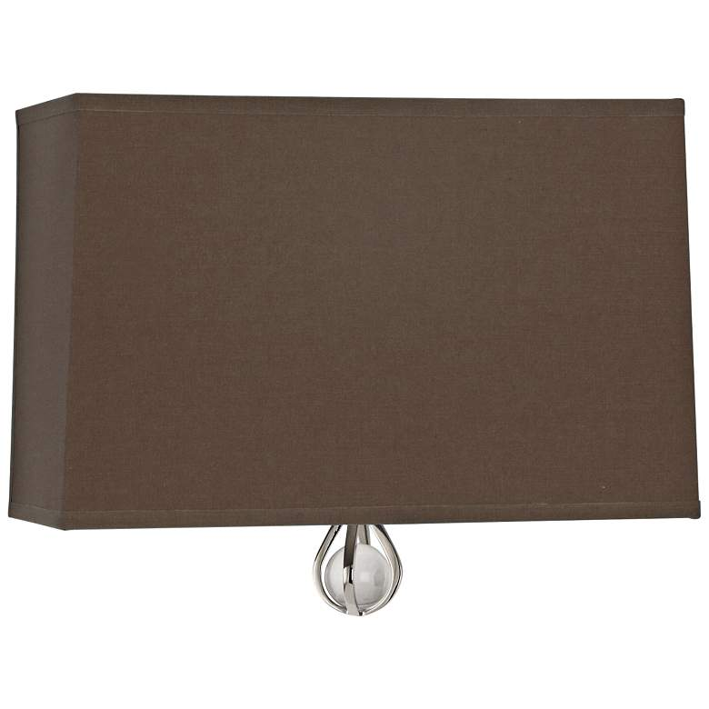 "Curtis 9"" High Revolutionary Storm w/ Orange Lining Sconce"