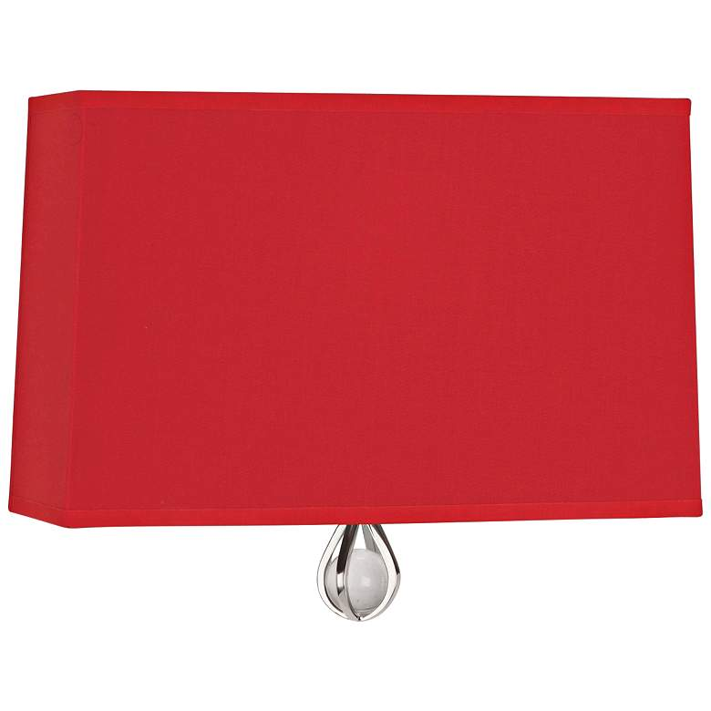 "Curtis 9"" High Richmond Red Wall Sconce"
