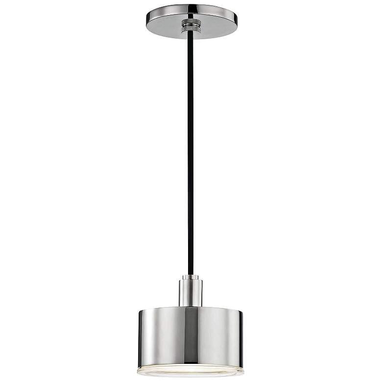 "Mitzi Nora 5 1/4"" Wide Polished Nickel LED"