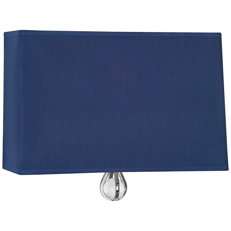 "Curtis 9"" High Ink Blue Wall Sconce"