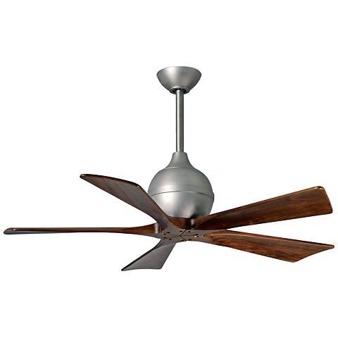 """42"""" Matthews Irene-5 Brushed Nickel Ceiling Fan"""