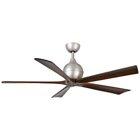 """60"""" Matthews Irene-5 Brushed Nickel Ceiling Fan"""