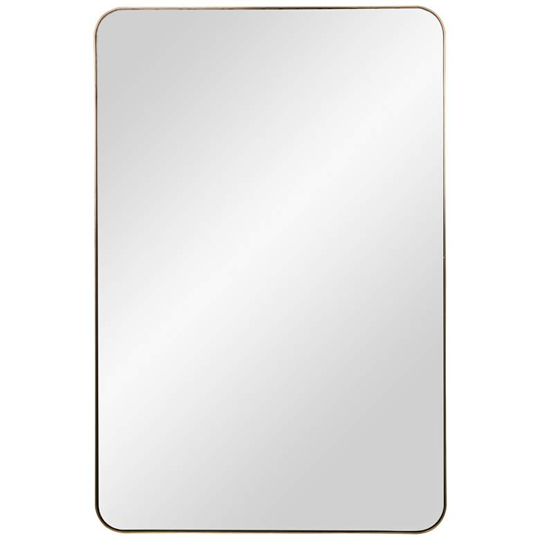 """Cooper Classics Alessandra Bronze 24"""" x 36"""" Wall Mirror"""