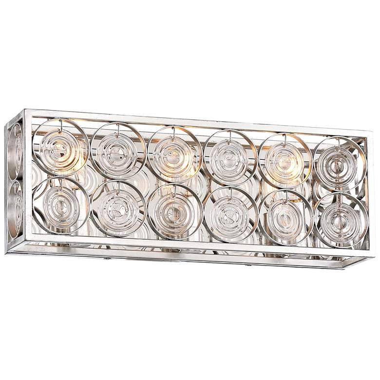 "Culture Chic 18 3/4"" Wide Catalina Silver Bath"