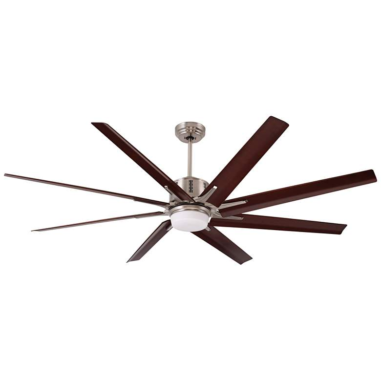 "72"" Emerson Aira Eco Brushed Steel LED Ceiling Fan"