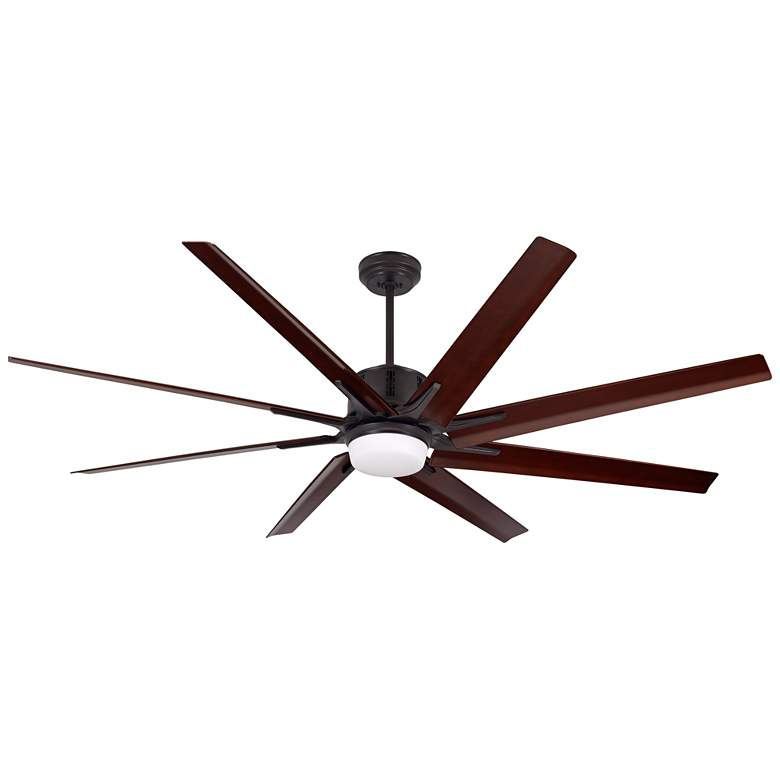 "72"" Emerson Aira Eco Oil Rubbed Bronze LED Ceiling Fan"