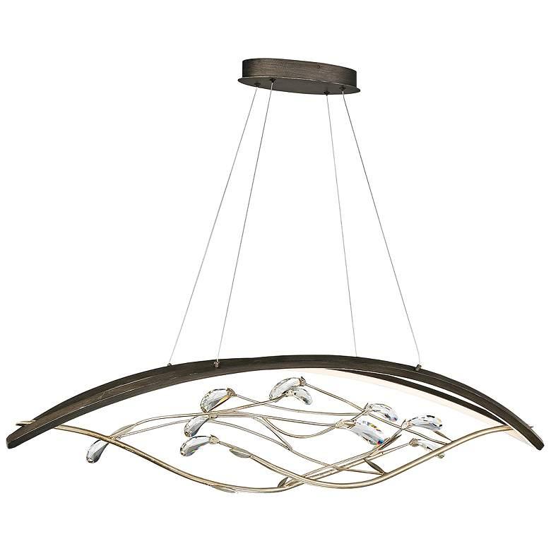 "Basilica 47 1/4""W Bronze LED Kitchen Island Light Chandelier"