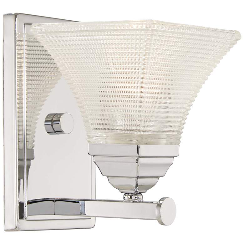 """Conspire 8"""" High Chrome Wall Sconce"""