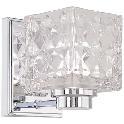 "Glorietta 6"" High Chrome LED Wall Sconce"