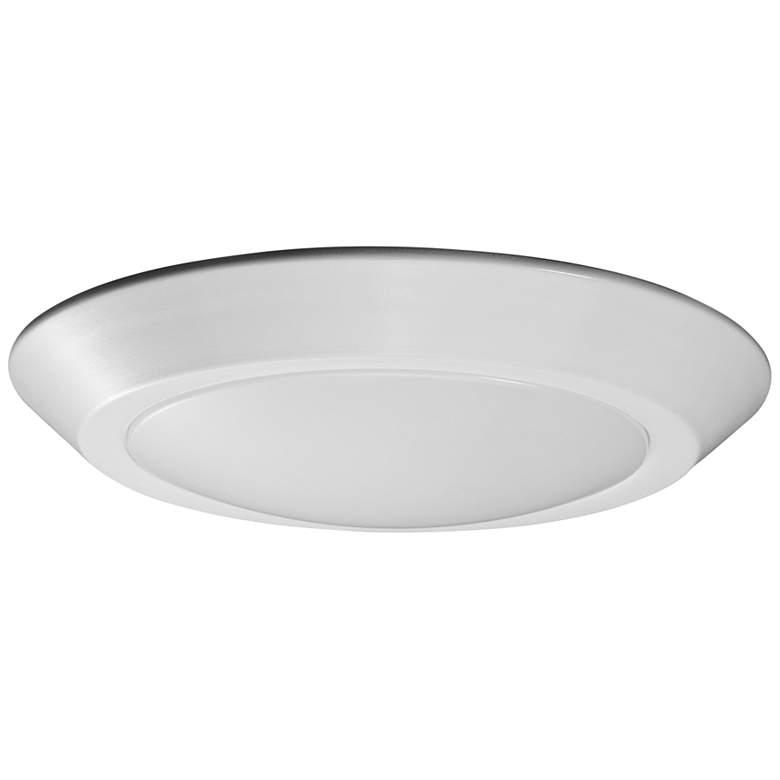 "Satco Nuvo Lighting 7 1/4""W White 3000K LED Ceiling Light"