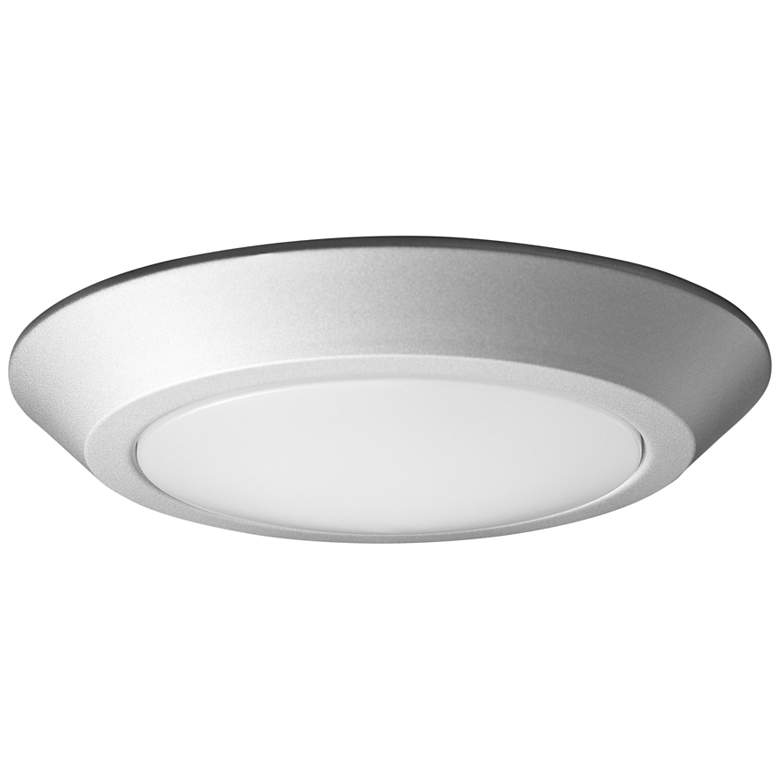 """Satco Nuvo Lighting 7 1/4""""W Brushed Nickel LED Ceiling Light"""