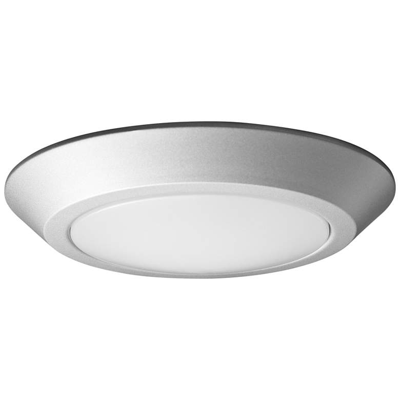 """Satco Nuvo Lighting 10""""W Brushed Nickel LED Ceiling Light"""