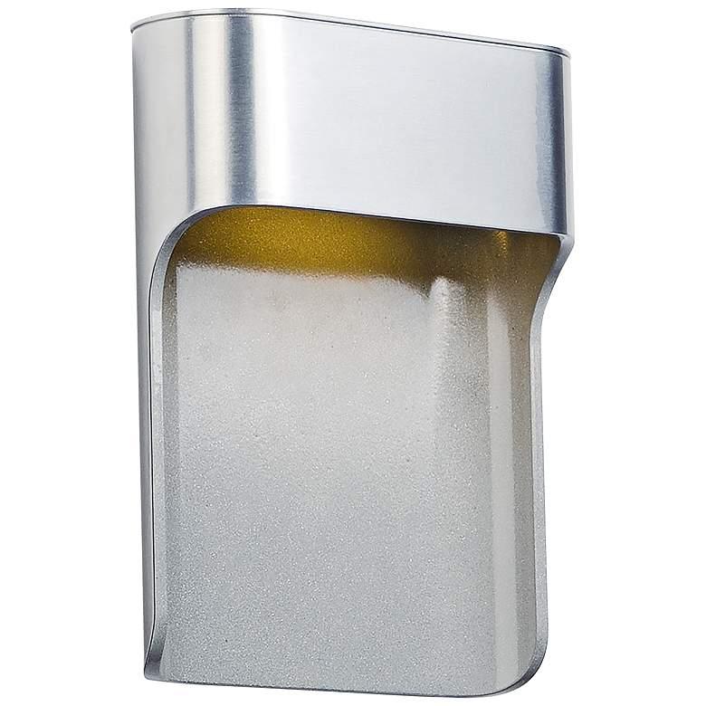 "ET2 Alumilux 7 3/4""H Satin Aluminum LED Outdoor Wall Light"