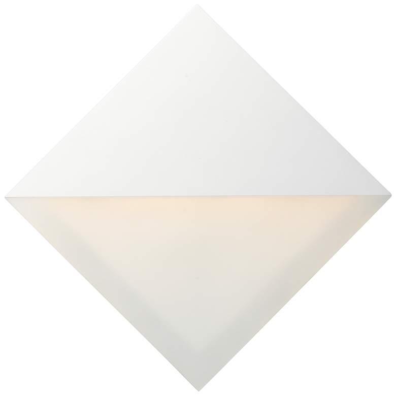 "ET2 Alumilux 8"" High White LED Outdoor Wall Light"