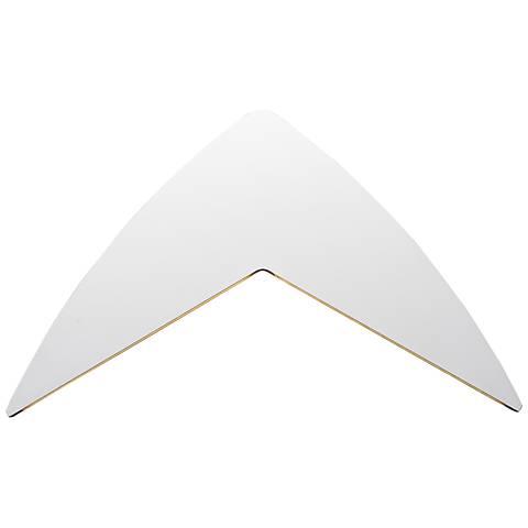 "ET2 Alumilux 9 1/4"" High White LED Outdoor Wall Light"