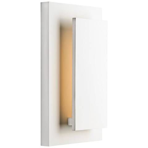 "ET2 Alumilux 14"" High White LED Outdoor Wall Light"