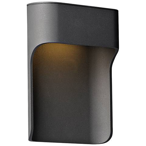 "ET2 Alumilux 7 3/4"" High Bronze LED Outdoor Wall Light"