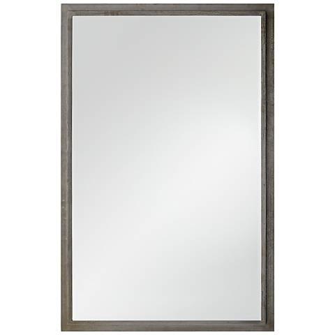 "Laforge Natural Iron 38"" x 58"" Wall Mirror"