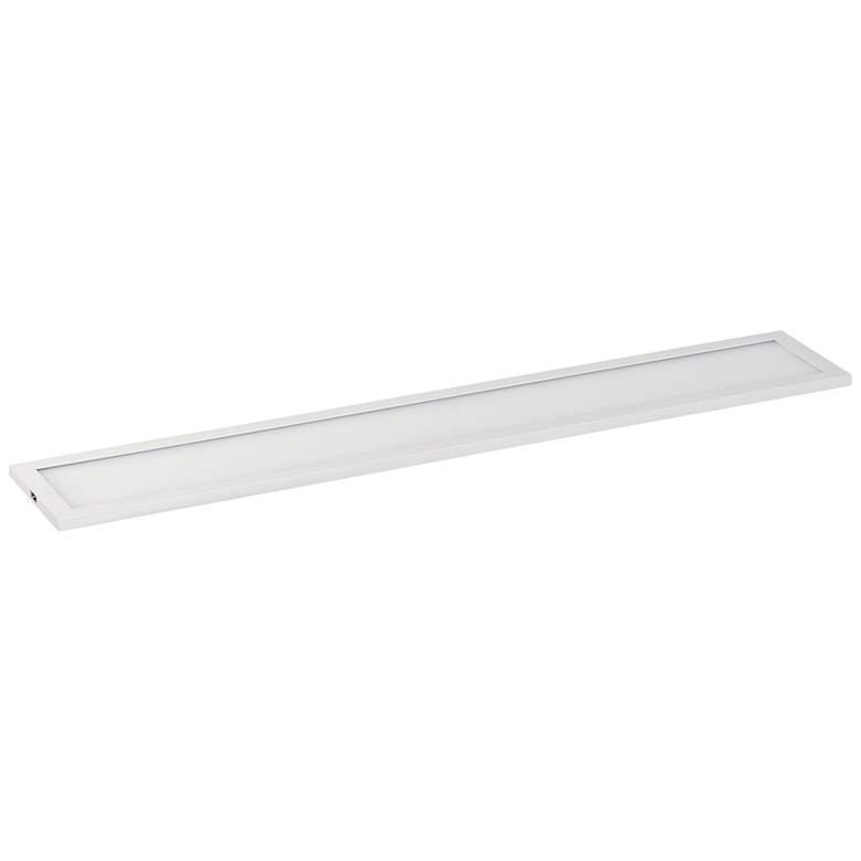 """Maxim Wafer 24"""" Wide White 4000K LED Linear Ceiling Light"""
