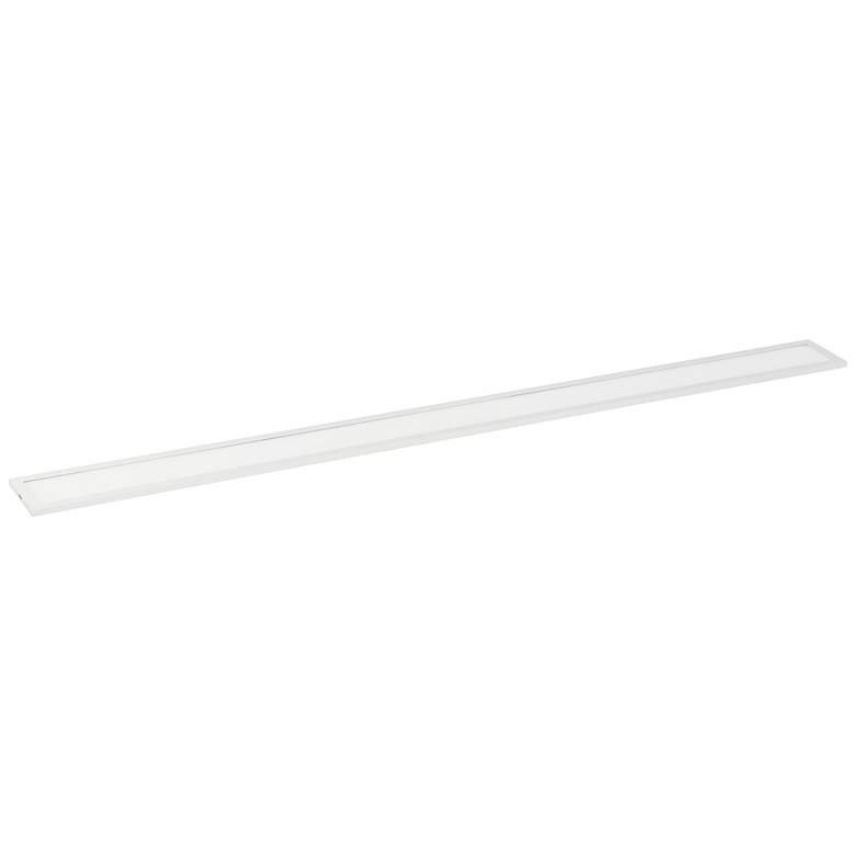 """Maxim Wafer 48"""" Wide White 3000K LED Linear Ceiling Light"""