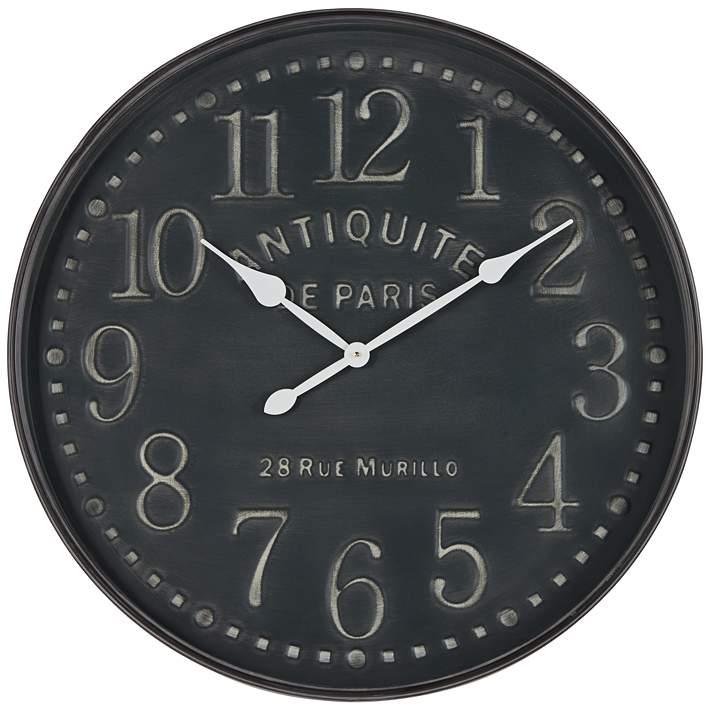 Grand Hotel 31 1 2 Wide Antiquite De Paris Wall Clock 47p92 Lamps Plus