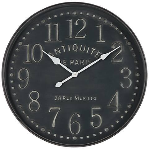 Grand Hotel 1978 Round Wall Clock