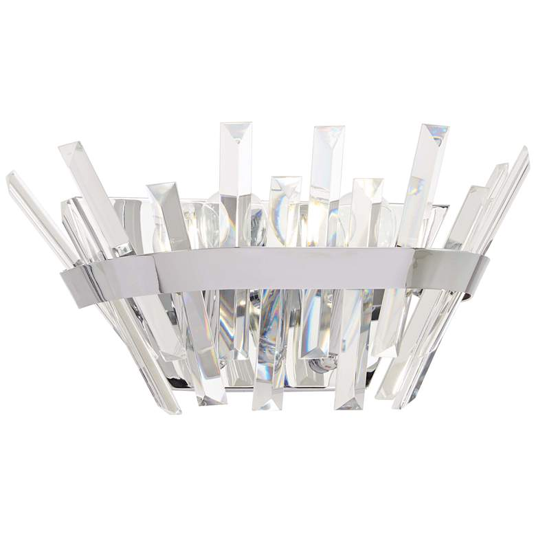 """Echo Radiance 6 3/4"""" High Chrome Wall Sconce"""