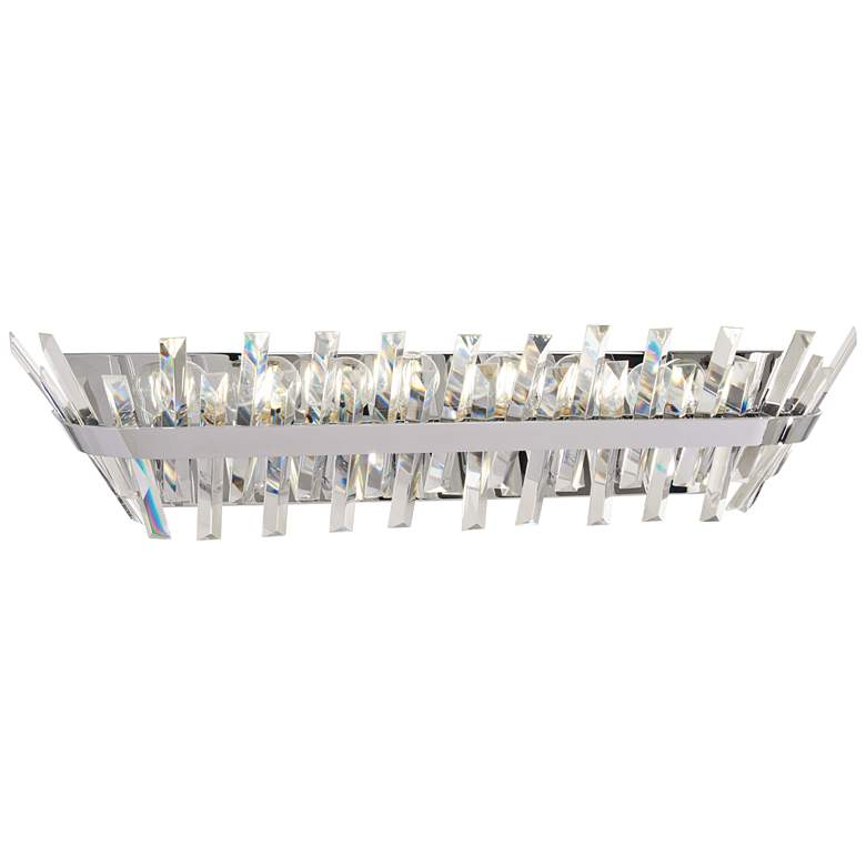"Echo Radiance 30 1/2"" Wide Chrome Bath Light"