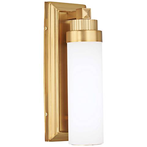 "Laia 13"" High Liberty Gold LED Wall Sconce"