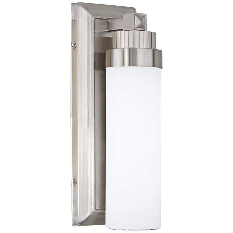 "Minka Lavery Laia 13"" High Brushed Nickel LED Wall Sconce"