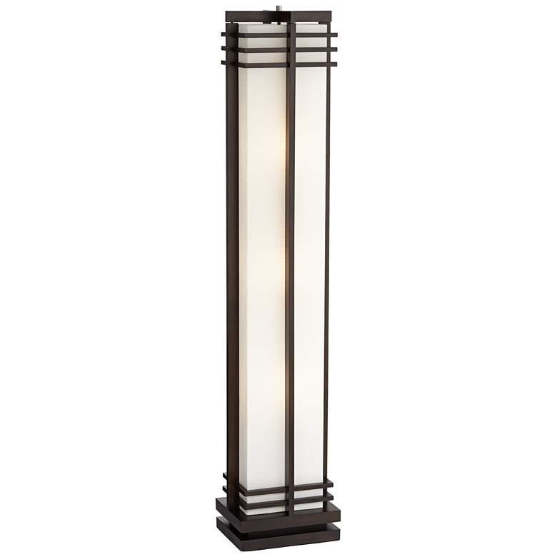 Possini Euro Design Deco Style Column Floor Lamp