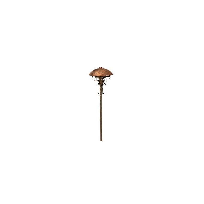 "Hinkley Palm 22""H Sienna Bronze Low Voltage Landscape"
