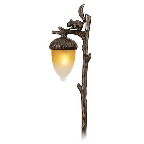 Hinkley Squirrel and Acorn Landscape Light