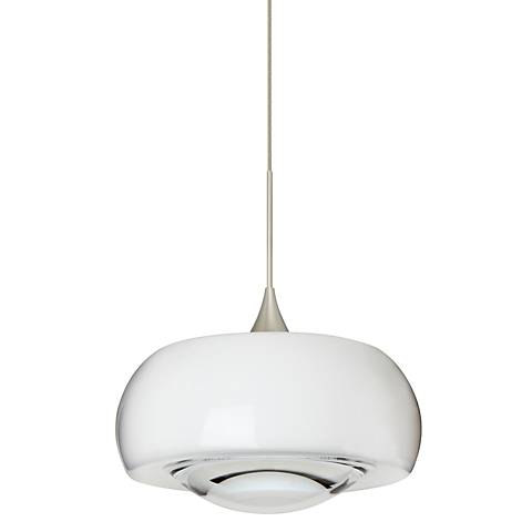 "Besa Focus Collection 6 1/2"" Wide Clear Mini Pendant"